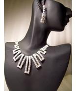 GENUINE AUSTRIAN CRYSTAL JEWELRY SET Necklace &... - $12.50