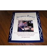 The Art Of Cooking  Jacques Pepins - $24.97