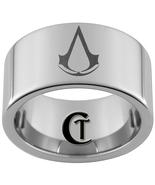 12mm Tungsten Carbide Assassin's Creed Laser De... - $49.00
