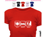 Buy Climbing - EAT SLEEP CLIMB ROCKCLIMB FUNNY T SHIRT ALL SIZE/COLOUR