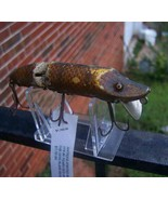 Heddon Dowagiac Antique jointed wood vamp lure - $575.00