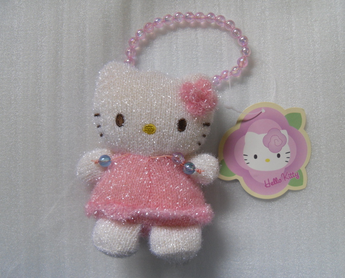 Hello Kitty Small Pink Coin Purse for Kids Children NEW