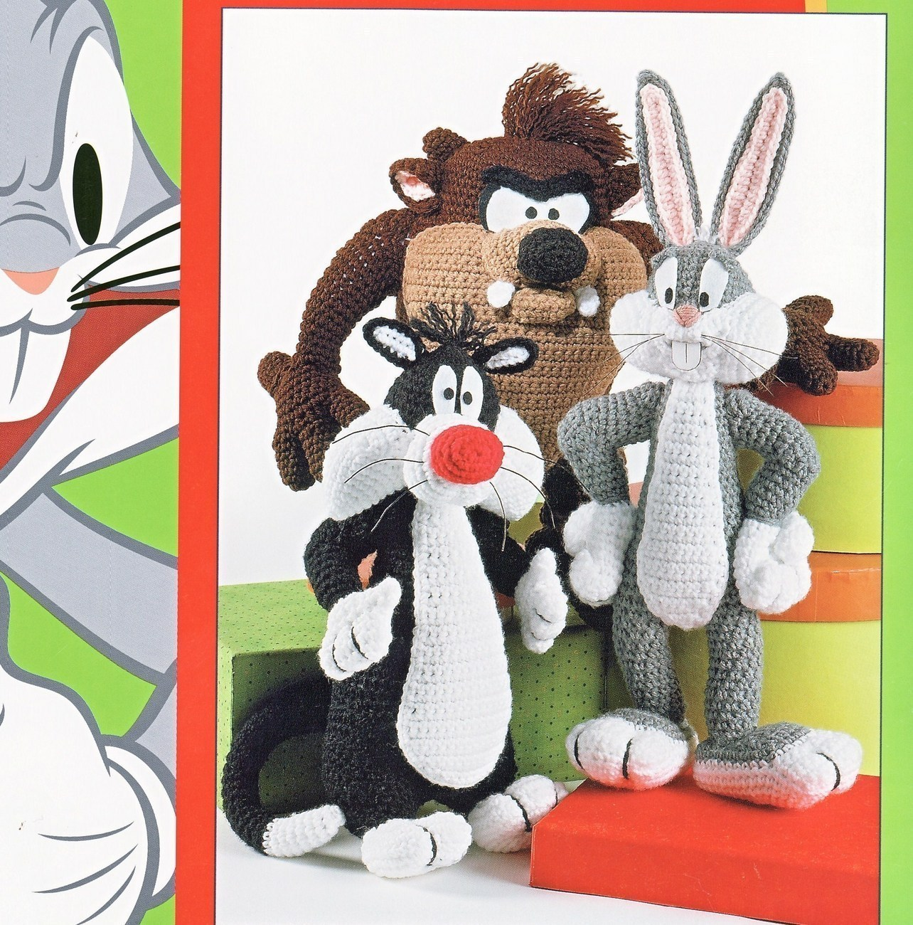 Looney Tunes English crochet pattern PDF by crochetamigurumi
