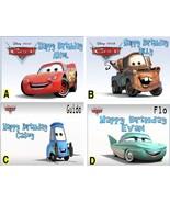 Cars 2  Custom Cake Topper  Frosting Sheet - $7.99
