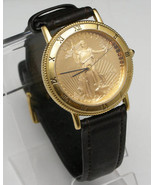 US Mint American Eagle Gold Coin Wrist Watch - $1,199.99