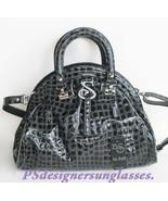 Blu Style Italian Designer Crocodile Leather Ha... - $275.00
