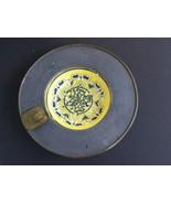 Ash Tray Porcelain Pewter Brass Japanese Hong K... - $20.00