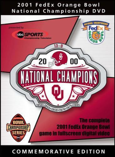 2001 Orange Bowl: Oklahoma Vs. Florida State