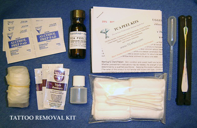 all inclusive tattoo removal kit 10 piece kit includes