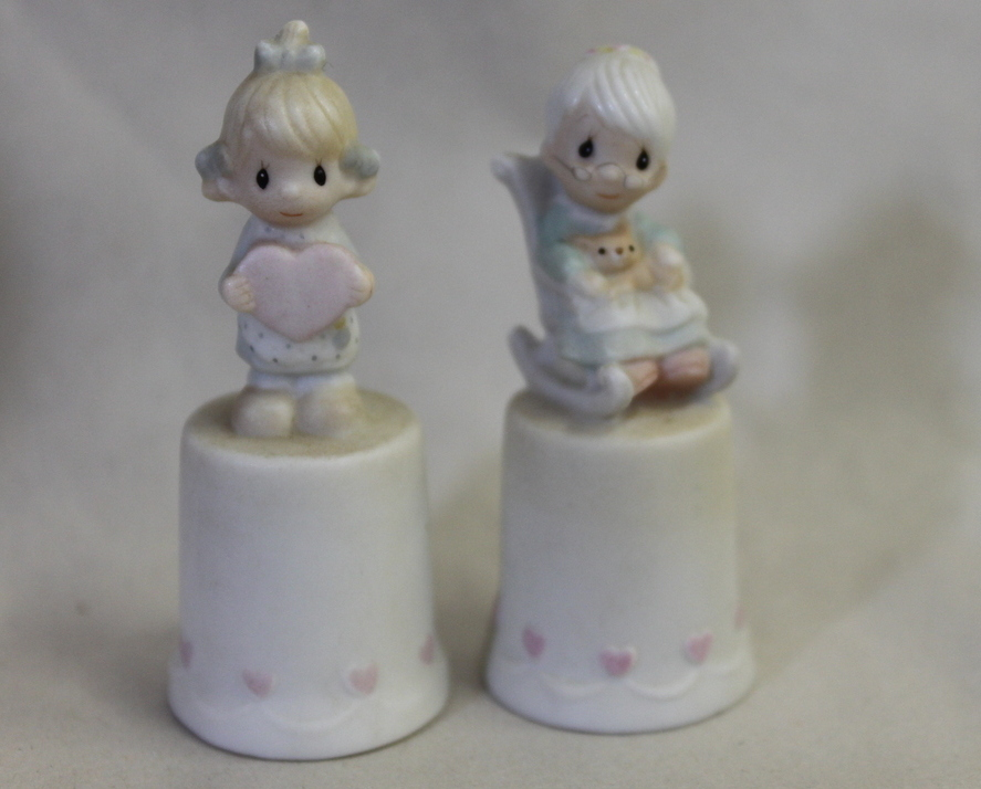 Precious Moments Itty Bitty Thimbles