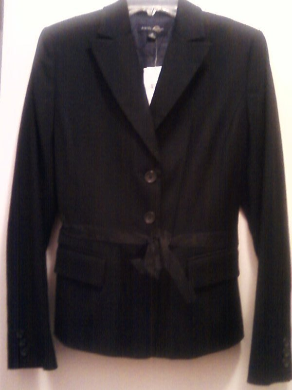 Banana Republic Wool Blazer Jacket Black  New