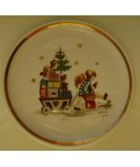 Berta Hummel Miniature Plate, Angel with Toys - $12.00