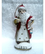 Christmas Eve Inc Santa Claus Figurine Ornament 1895 Memories of Santa