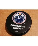 NHL Edmonton Oilers LOGO OFFICIAL HOCKEY PUCK S... - $7.76