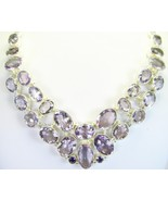 Lilac or Lavender faceted Pink Amethyst Ovals S... - $327.49