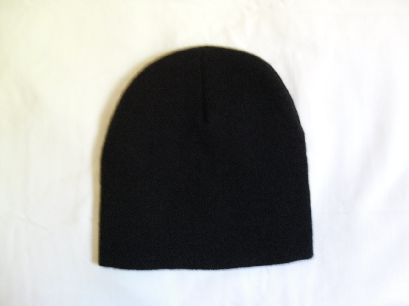 Black Beanie Skullcap Skullie Hat Cap NEW