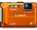 Buy Panasonic Lumix Digital Cameras - Panasonic Lumix DMC-TS3 Digital Camera (Orange)