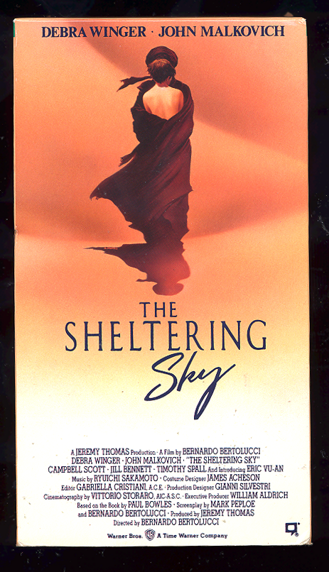 Sale!  The Sheltering Sky  Vhs  John Malkovich/Debra Winger