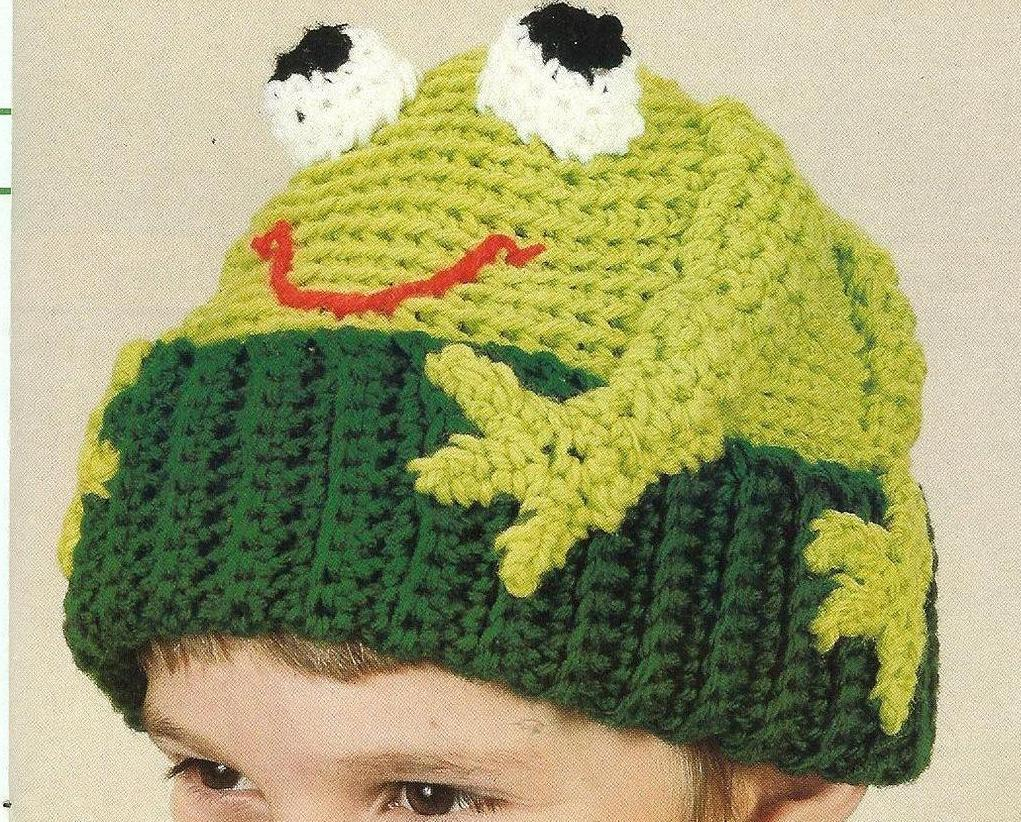 Fro Frogs Afghan, Pillow and Toy Patterns Crochet Pattern