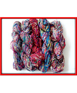 Recycled Art Silk yarn for knitting and crochet... - $33.29
