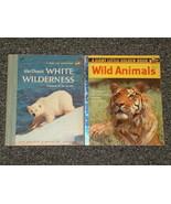 2 Little Golden Books Walt Disneys White Wilder... - $2.50