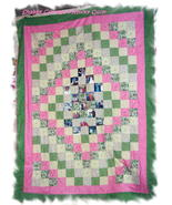 *Customized Photo Memory Twin Size Quilt*  - $170.00