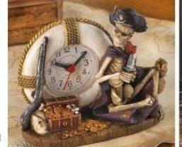 Buccaneer Desk Clock