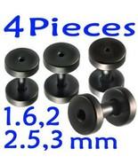Lot 14g,12g,10g,8g Gauge Tunnels Ear Plug Earri... - $16.80