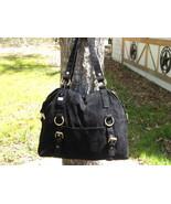 Handbag Purse Shoulder Bag Black Tote - $10.00