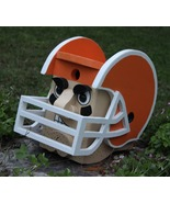 Football Player Birdhouse, You Pick the Helmet ... - $50.00