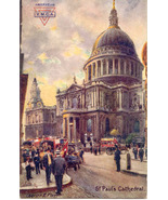 ST Pauls Cathedral Tucks Doughboy 1918 Vintage ... - $7.00