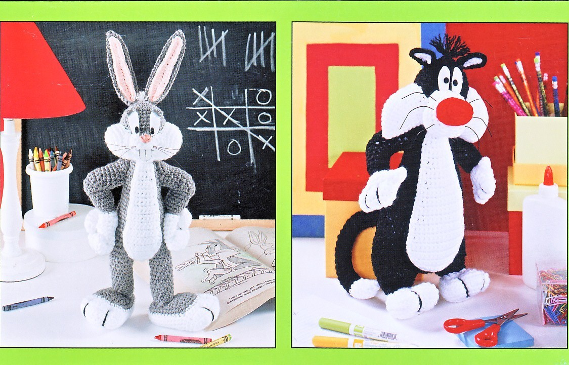 BUGS BUNNY HEAD CROCHET AFGHAN PATTERN GRAPH CHART - Crafts