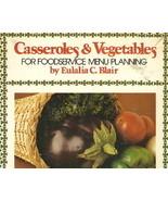 Casseroles & Vegetables Food Service Menu Plann... - $9.99