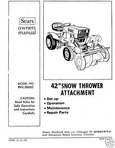 Craftsman Snow Thrower Parts Manual : Download parts manual craftsman snow thrower diigo groups