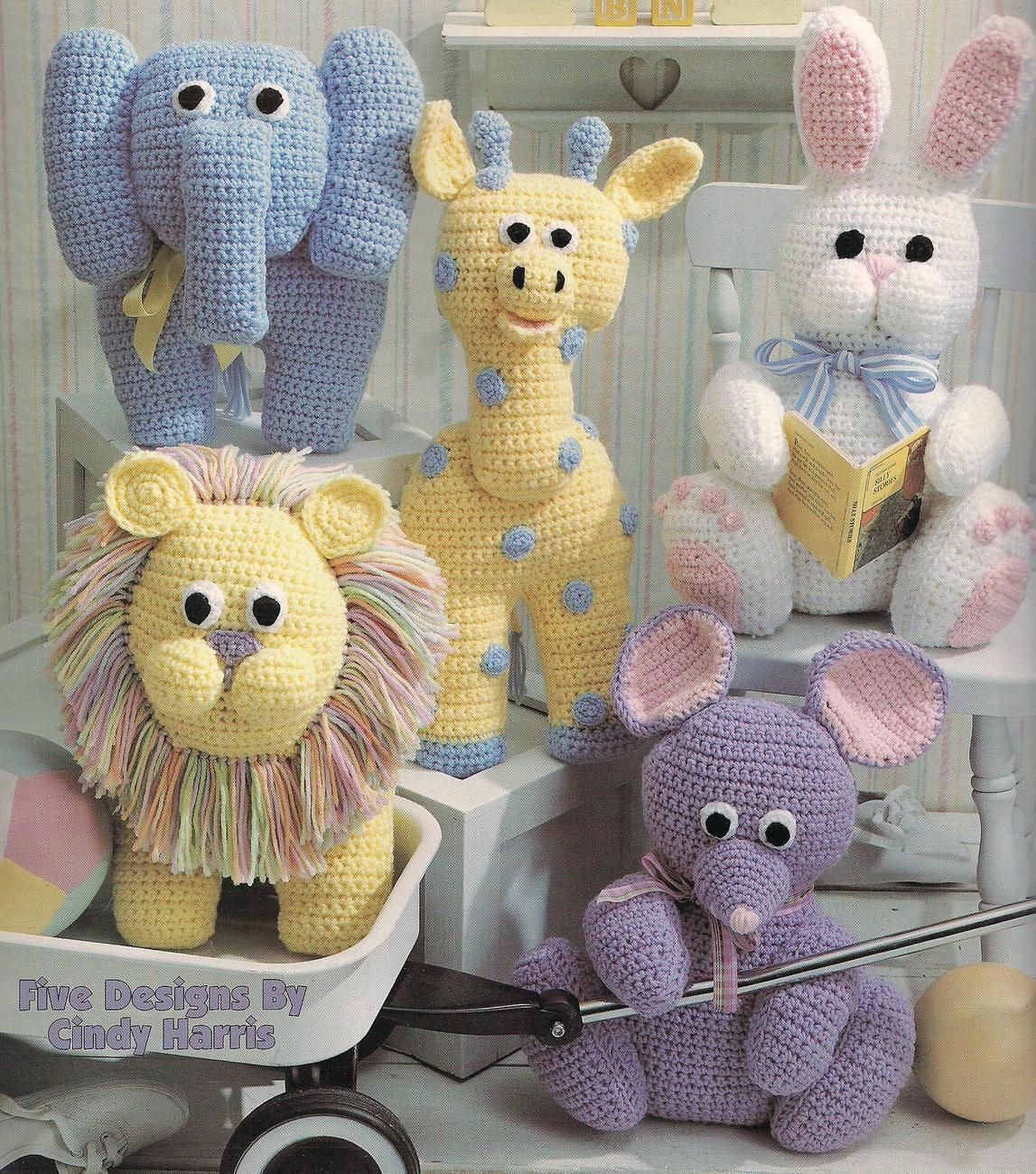 Crocheted Bunny Pattern | ThriftyFun