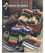 RARE~Indian Blanket Afghan Crochet Pattern~Anni... - £20.60 GBP
