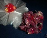 Buy Flowers - 36 burgundy iredescent azalia satin  flower 1.75""
