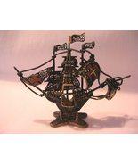 Vintage Filigree Brass Portugal Ship Wire Metal - $39.50