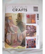 McCall's Crafts Pattern 3901 - Rag Quilt Large ... - $3.95