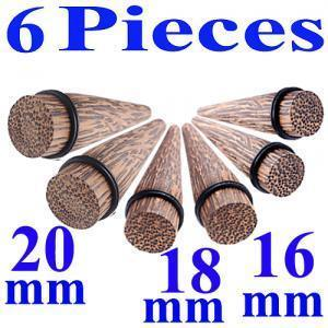 ear taper stretcher kit 5/8,11/16,3/4 gauge wood BKOE