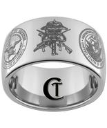 12mm Dome Tungsten Carbide Navy Seals  Laser De... - $49.00