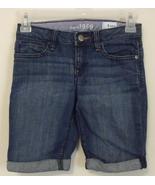 Girls Gap Kids Denim Blue Jean Shorts Size 8 - $6.50