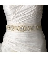 New! Beaded Pearl and Crystal Ivory Wedding  Dr... - $89.99