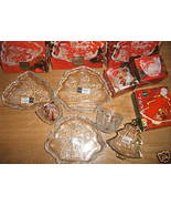 LOT OF 6 MIKASA GLASS WARE CANDLE HOLDER SWEET ... - $39.99