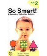 So Smart!: Vol. 2 - All About Shapes 1998 VHS B... - $4.99