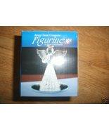 Angel Christmas Ornament Spun Glass 24-K Gold P... - $8.99