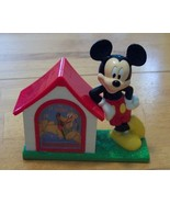 Vintage Mickey Mouse and Pluto in Doghouse Alar... - $7.99