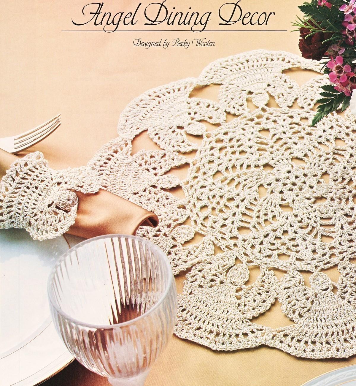 ARCHIVE CROCHET ANGEL DOILY PATTERNS – Crochet Patterns