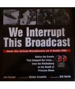 We Interrupt This Broadcast includes 2 Audio CDs - $9.95