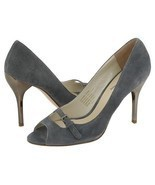 Type Z Roxie Gray Suede Womens Size 9.5 Stilett... - $34.00